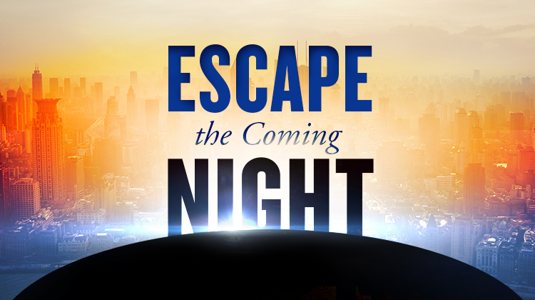 Book cover of Escape the Coming Night